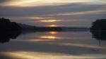 ...und der nächste Morgen am Fluss Karuha.