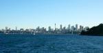 Die letzten Kilometer bis Sydney leg ich mit der Fähre zurück.