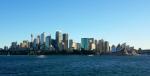 Ankunft im Hafen. Rechts im Bild das Sydney Opera House....