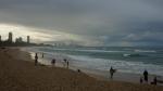 der Strand bei Gold Coast
