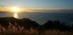 Sonnenuntergang oberhalb von Wategos Beach