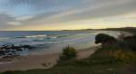 der Strand vor Pauls und Lucys Haus