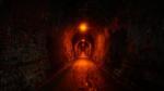 ....und durch einen alten Eisenbahntunnel.