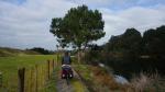 auf dem Waikato-River-Trail