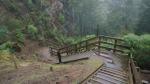 zwischendrin gibts auch mal ein paar Treppen zu überwinden (kein Spass mit einem voll beladenem Reiserad)