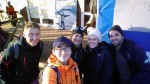 mit Philipp, Logan, Malu und Michael kurz vor dem Start