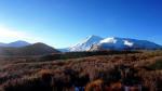 Blick auf das Vulkanmassiv