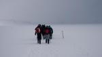Rückweg über den South Crater (keine 15 später waren die Wolken wieder komplett verschwunden)
