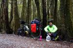 irgendwo am West Coast Wilderness Trail