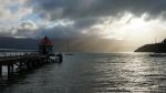 im Hafen von Akaroa